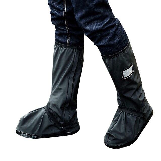 70 Pi/èces Couvre-Bottes Jetables Couvre-Chaussures Longues Plastique Couvre-Chaussures Imperm/éables Longues Couvre-Bottes de Pluie Bleues Couvre-Chaussures Antid/érapants pour Jour de Pluie Ext/érieur