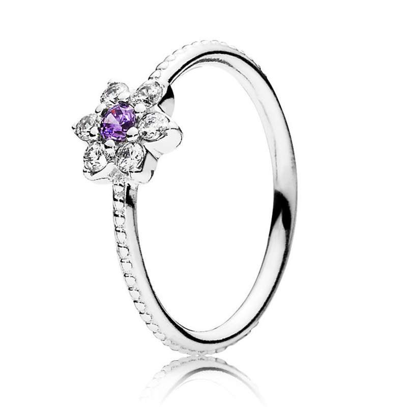 Кольцо на палец в форме сердечко серебряного цвета для женщин, европейская оригинальная Корона, изящные кольца на палец, свадебные украшения, 50 стилей, Прямая поставка - Цвет основного камня: Rings 039