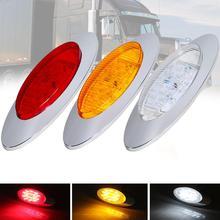 цена на DC12V 16 LED Car Boat Side Marker Lights External Lights Warning Tail Light Auto Trailer Truck Lorry Lamps Boat Signal Lighting
