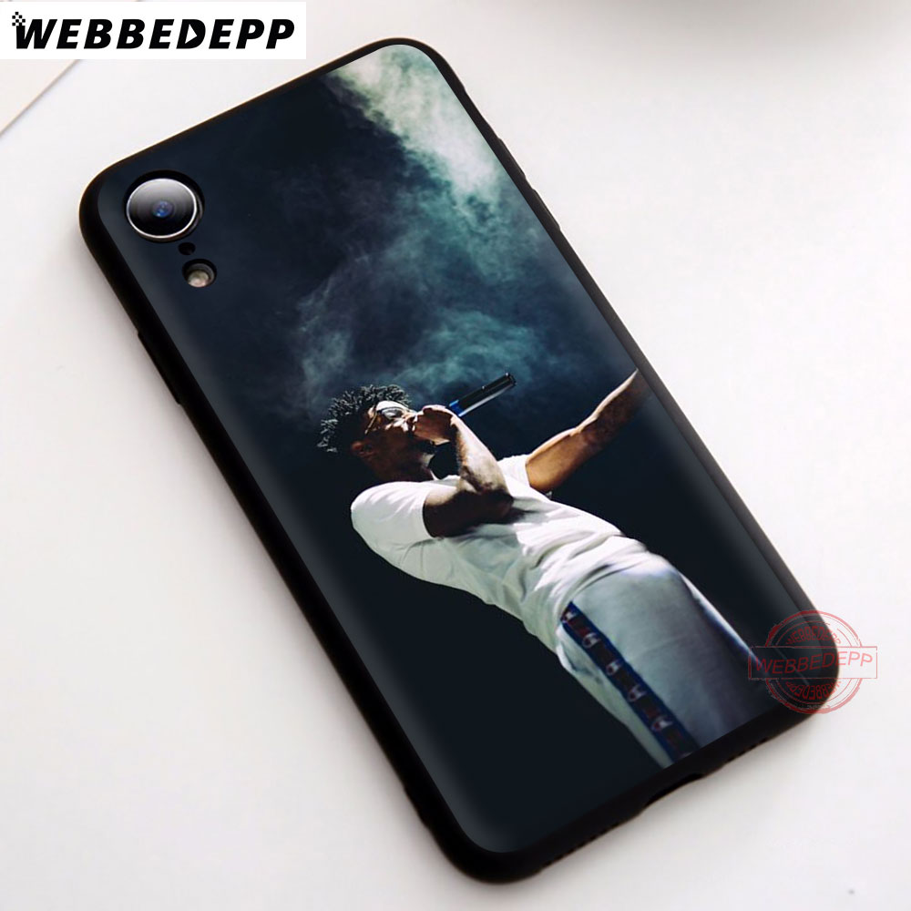WEBBEDEPP 1N 21 Savage Soft Silicone Phone Case for iPhone 5 5S 6 6S 7 8 Plus X XS Max XR Back Cover in Fitted Cases from Cellphones Telecommunications
