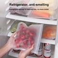 10 шт./12 шт свежие мешок силиконовый мешок PEVA Еда контейнеры для хранения контейнеров герметичный многоразовый закрыть мешок Свежий Еда сумк...