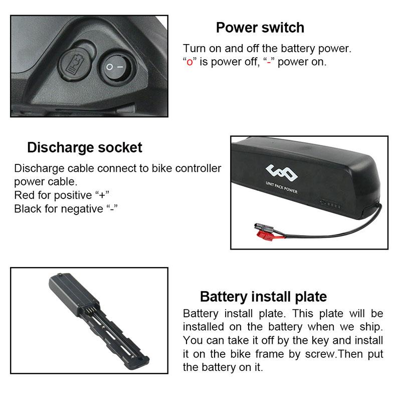 e-bike battery for bafang motors