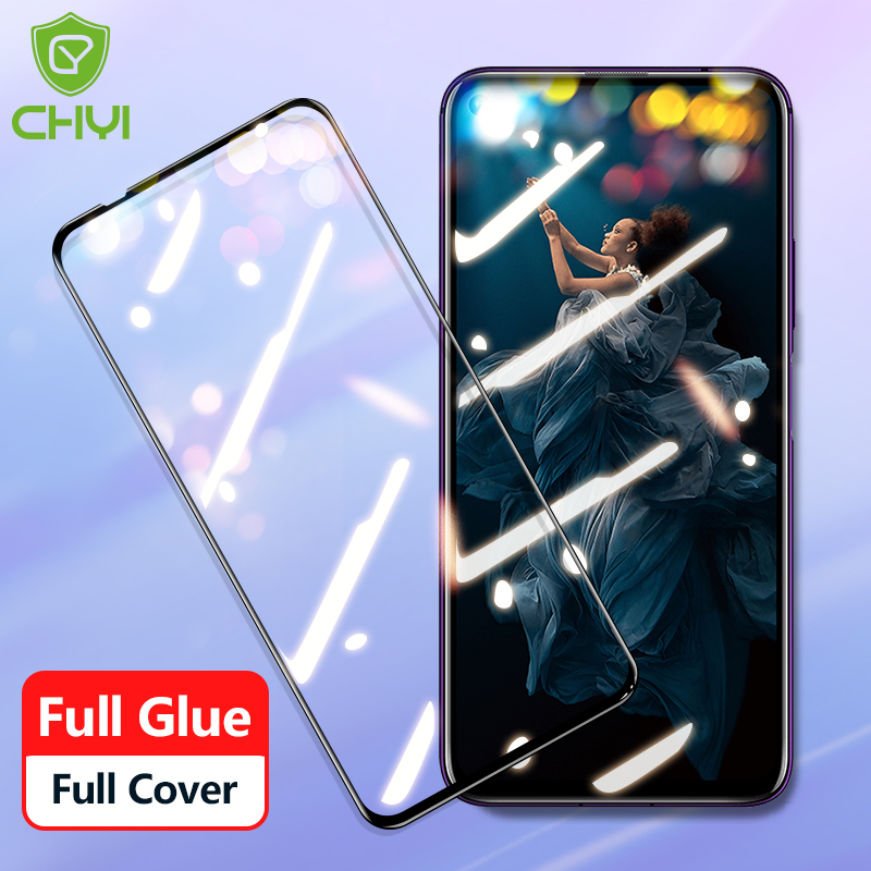 Protective Glass For HUWEI P40LITE E Screen Protector Full Glue Tempered For Huawei P20 P30 10 Lite Honor 20 Pro 9x 10i Glass