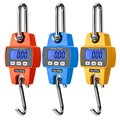 300KG/660Lb Hanging Scale Weight Heavy Duty Hanging Hook Scales Digital Stainless Steel For Farm Hunting Big Fish