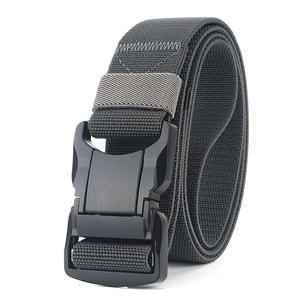 Jeans Belt Buckle Tactical-Belts Nylon Black Comfortable High-Quality Men Pluggable Aluminum-Alloy