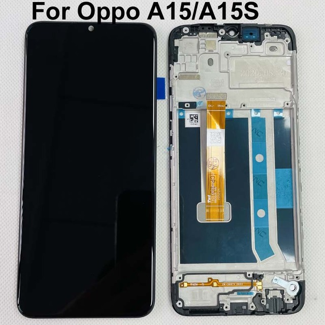 """6.52"""" Original Test For Oppo A15 LCD Display Screen+Touch Panel Screen Digitizer OPPO A15S CPH2185 LCD Display Replacement"""