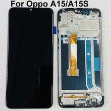 "6.52 ""Original Test สำหรับ Oppo A15จอแสดงผล LCD + หน้าจอสัมผัส Digitizer OPPO A15S CPH2185จอแสดงผล LCD เปลี่ยน"