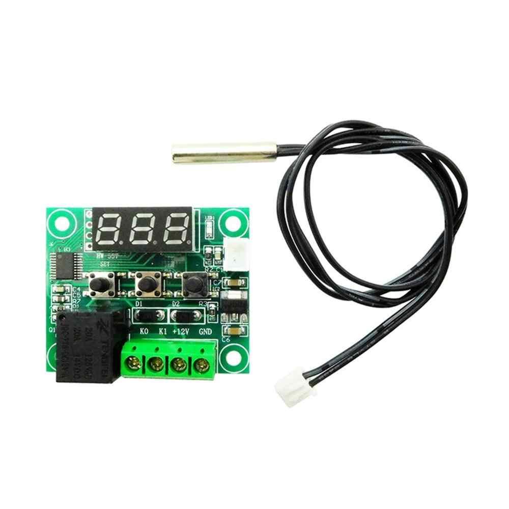 W1209 termostato con pantalla digital de alta precisión controlador de temperatura interruptor de Control de temperatura Placa de Control de temperatura