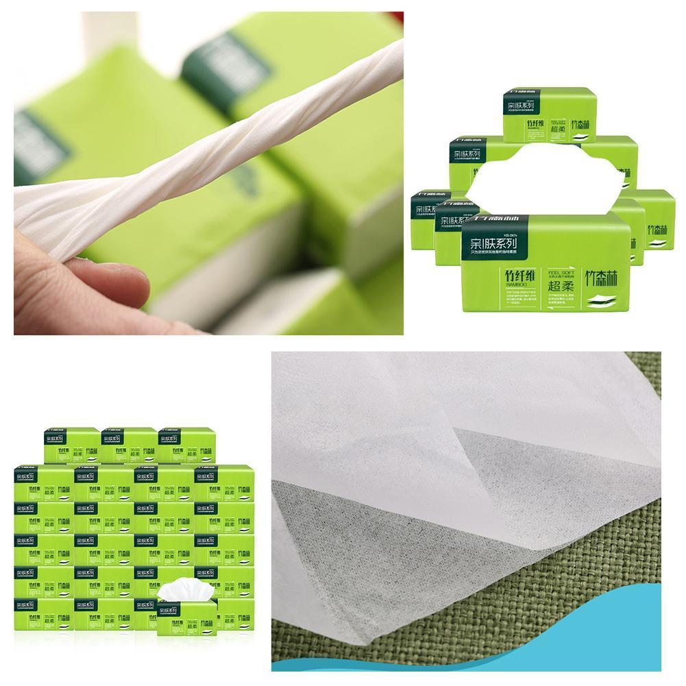 1 Packs Soft Toilet Paper Safe Skin Friendly Kitchen Toilet Paper Cleaning Supplies Household Tissue Paper E4U9