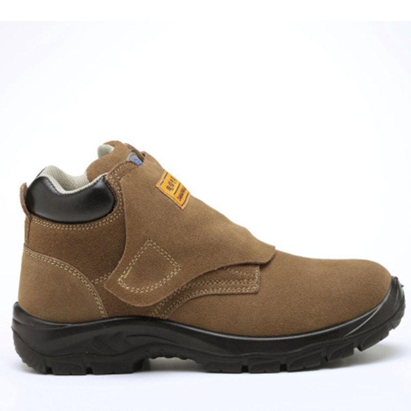 Welding Safety Shoes Crushing Puncture Steel Head Protection Safety Boots