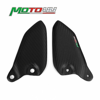 For Kawasaki Z900RS 2018 Motorcycle Heel Guards Plates (Replacement) 100% Carbon Fiber Gloss/Matt Z900 RS 2019