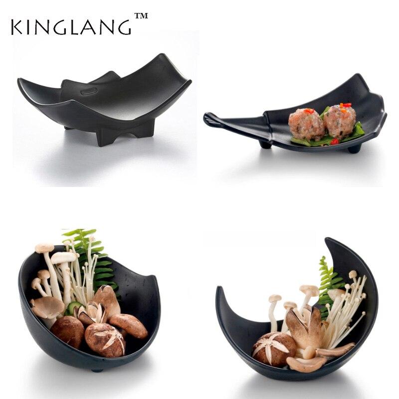 Household Chinese imitation porcelain plastic melamine deep salad bowl dinnerware restaurant tableware supplies