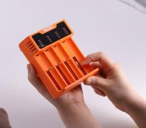 Image 5 - PKCELL سريع تهمة شاحن بطارية 18650 14500 26650 AA AAA ل 1.2 فولت 3.2 فولت 3.7 فولت ni mh NI CD بطارية ليثيوم أيون 5 فولت 2A LED الذكية USB