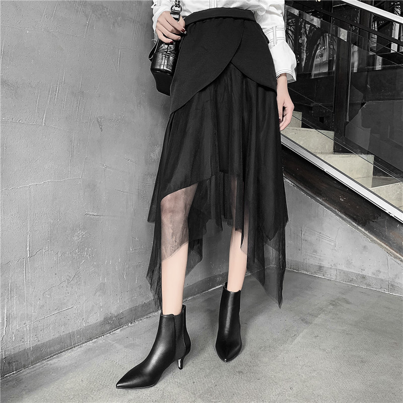Image 5 - FEDONAS Brand Elegant Ladies Thin Heels Party Prom Shoes Woman Winter Warm Plus Size Chelsea Boots Fashion Women Ankle Boots-in Ankle Boots from Shoes