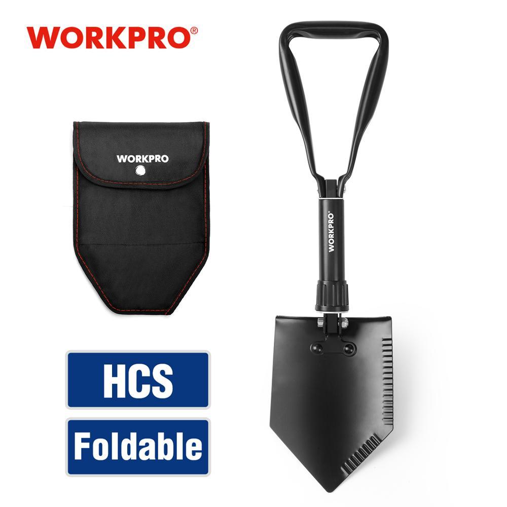 Hot DealsWORKPRO Folding Shovel Emergency-Tools Survival Camping Spade Outdoor Tactical