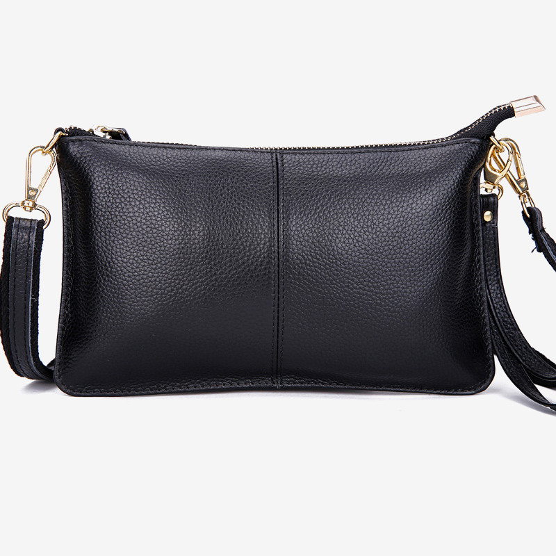 Luxury Genuine Leather Crossbody Bags For Women 2019 Female Black Small Sling Handbags Lady Coin Purse Women's Evening Tote Bag