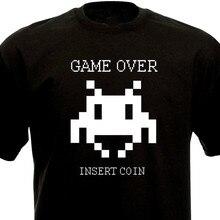 Camiseta juego-Los invasores espaciales vintage arcade año 80 geek extranjero 1980-Mostrar título original