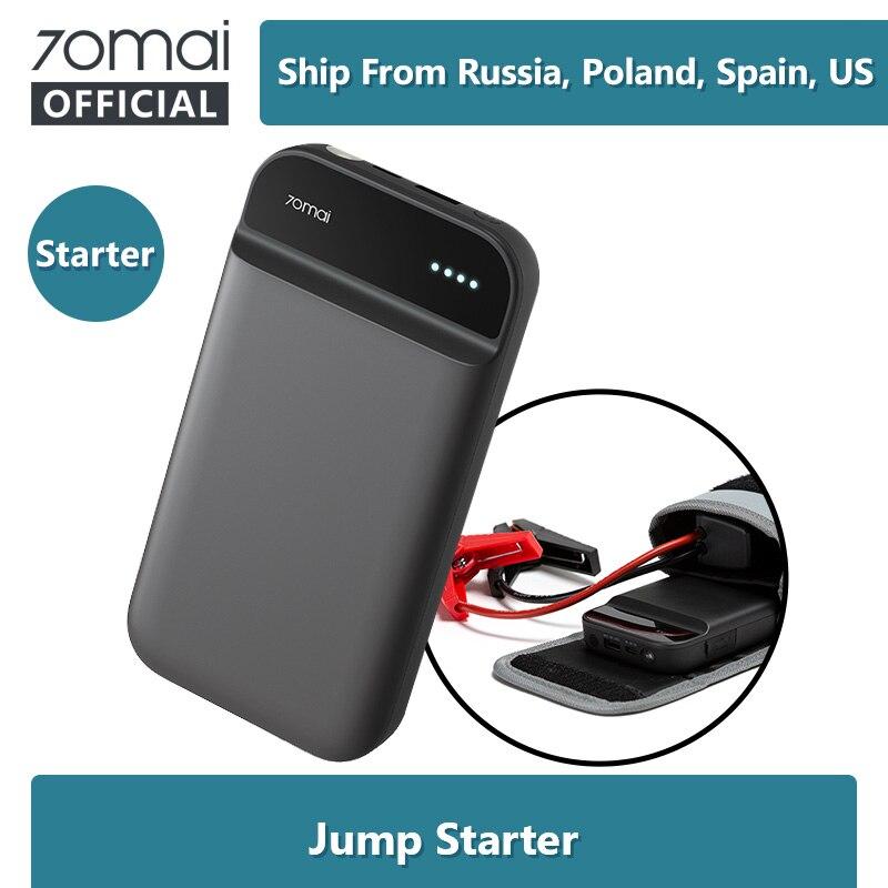 70mai Jump Starter 70Mai Car Jump Starter Power Bank Thực 11000 MAh Máy Khởi Động Ô Tô Tự Động Buster Xe Cấp Cứu Tăng Áp pin