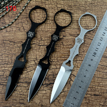 Y-START EDC TOOL 176 fixed knife D2 steel blade CNC Tactical outdoor camping survival knife Tool with Kydex sheath high quality outdoors tool knives bolte kydex sheath tactical camping hunting diving knife d2 steel blade black g10 handle