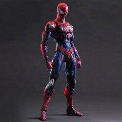 Мстители СВЧ «Человек-паук»; PA изменение «Человек-паук»; Игрушечных пластиковых экшн фигурок из Коллекционная Фигурка модель игрушки куклы...