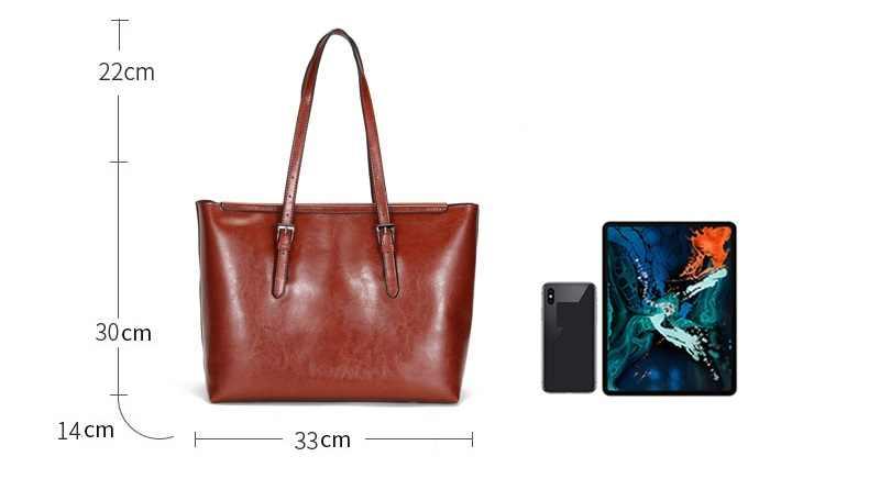 Bolsa feminina marca de luxo de couro genuíno bolsas de couro de alta qualidade macio tote bags senhoras reais c1266