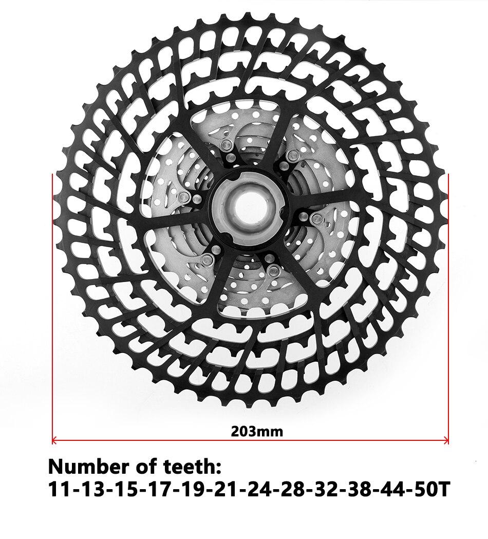 roda livre 11-50 t 11-52 t ultraleve