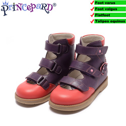 Princepard orthopedic shoes for kids can effectively corrt and prevent flat foot o-shaped legs x-shaped legs girls sandals