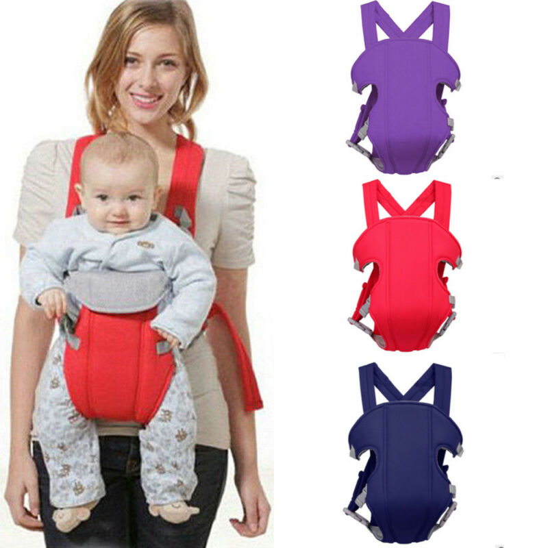 2019 Brand New Adjustable Baby Infant Toddler Newborn Safety Carrier 360 Four Position Lap Strap Soft Baby Sling Carriers 2-30M