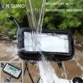 Держатель для телефона на велосипед  мотоцикл  подставка  водонепроницаемый чехол для iPhone Xs Max  gps  для huawei P20  крепление на руль велосипеда