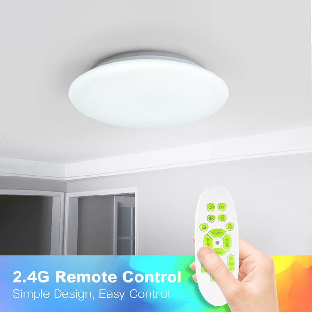 OFFDARKS smart LED ceiling light WIFI voice control RGB dimming APP control living room bedroom kitchen ceiling lamp