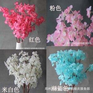 Image 5 - 2020New スタイルのウェディング小道具桜道路のリードを希望ツリー桜の結婚式のサイト装飾用品鉄アート