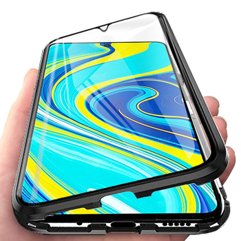 for xiaomi redmi note 9s case double sided glass cases on xiomi redmi note 9 s not9 note9s magnetic metal bumper cover coque
