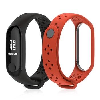 NFC Version mondiale Mi bande 5 Bracelet pour Xiaomi Mi bande 4 sangle Sport Smart Mi bande 3 sangle Bracelet Correa MiBand 3 4 2
