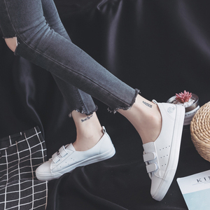 Image 3 - Womens Leather Shoes Fashion Flats Spring Summer Women Causal Sneakers Floral Breathable White Shoes High Quality Shoes Women