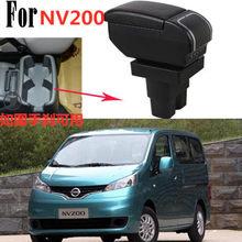 Auto Center Konsole Armlehnen Lagerung Box für Nissan NV200 evalia armlehne box Mit usb-schnittstelle 2019 2011 2013 2014 2015 2016