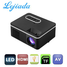 Lejiada S361 Portable Mini LED Proyektor 320X240 Piksel 600Lumens Proyektor Home Media Player Built-In Speaker()