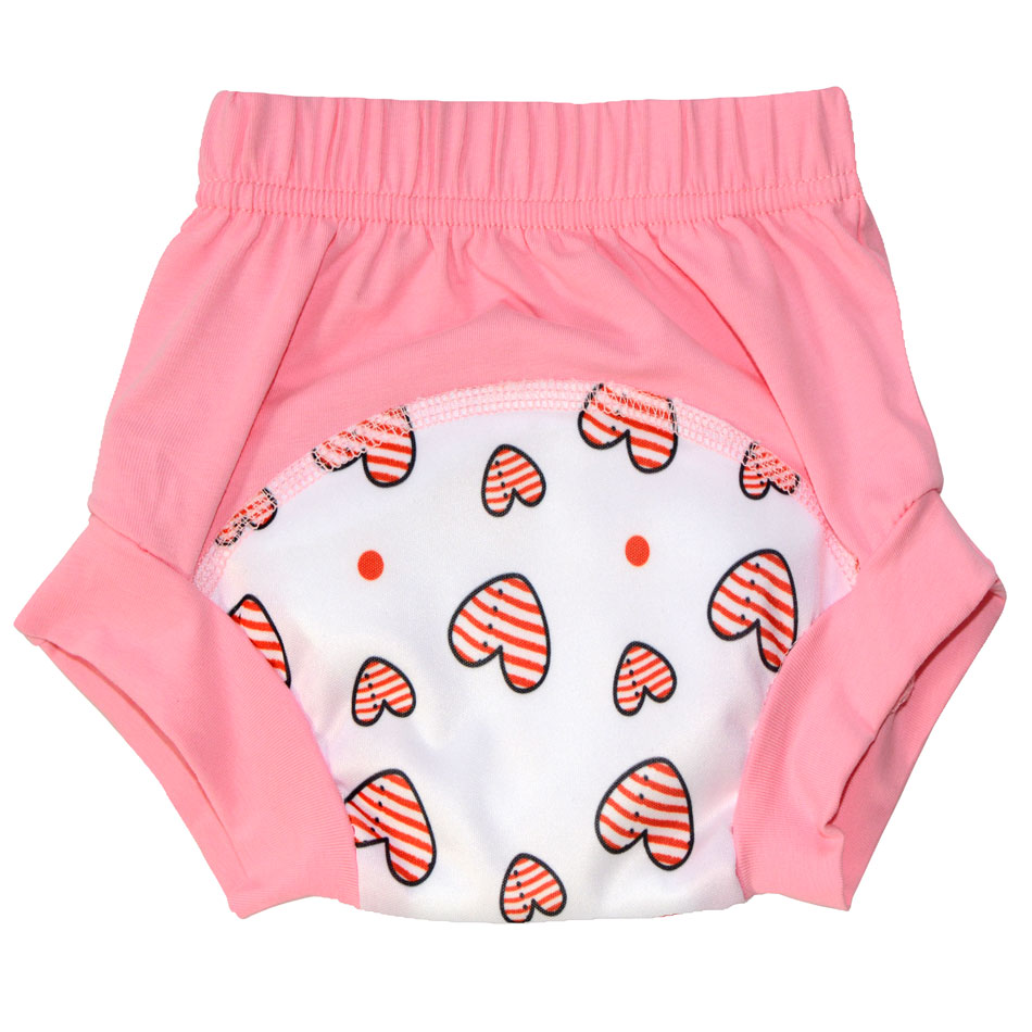 92% Cotton 8% Spandex Training Pants For Baby,Waterproof PUL And 2 Layers Microfiber In The Middle