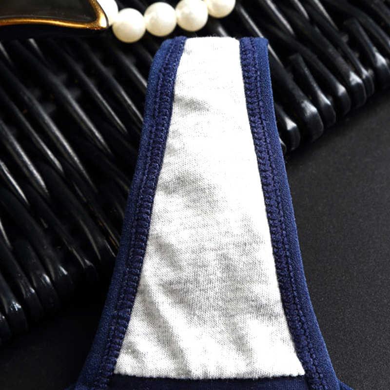 2019 calcinha de algodão de esportes femininos g-strings sem costura tanga calcinha de corda cueca feminina cuecas de baixo nível sexy lingerie calças