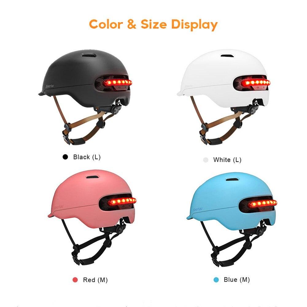 Smart4u SH50 Cycling Bicycle Helmet Smart Flash Helmets Intelligent Back LED Light For Bike Scooter Electic