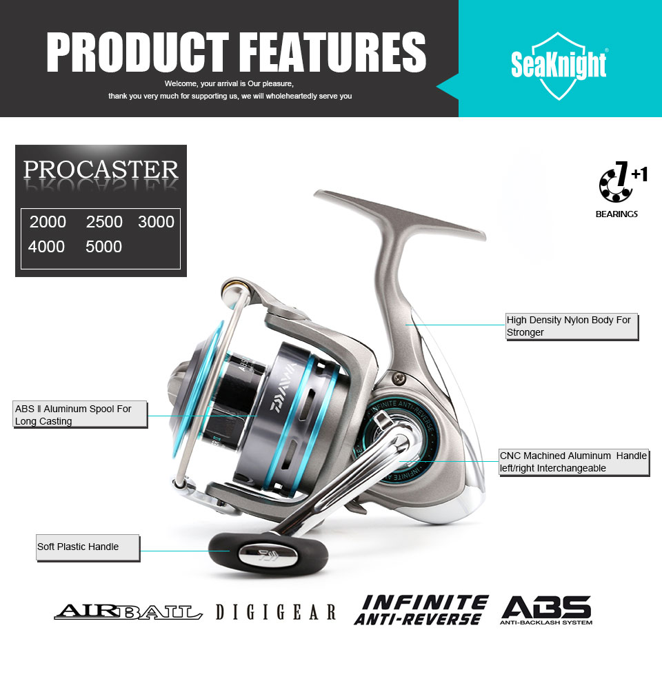 DAIWA PROCASTER fishing reel