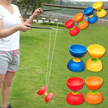 Funny Chinese YOYO 3 Bearing Diabolo Set Metal Sticks Bag Toys Interactive games For Kids Children Adult Elderly People toys funny chinese yoyo 3 bearing diabolo set metal sticks bag toys interactive games for kids children adult elderly people toys