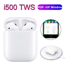 i500 tws 1:1 Pop Up Wireless Charging Bluetooth Earbuds Earphone Origial Touch