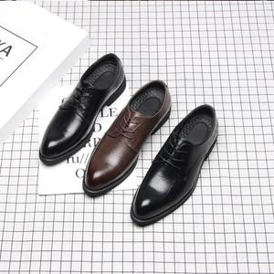 Image 2 - 37 44 Mensอย่างเป็นทางการรองเท้าธุรกิจสบายสไตล์สุภาพบุรุษรองเท้าผู้ชาย #2033