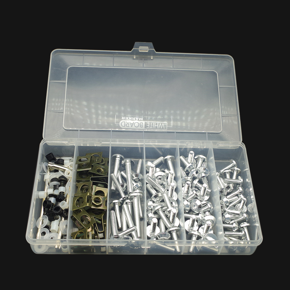 Universal Motorcycle Full <font><b>Fairing</b></font> Screws Kit Body moto cover Bolts Nuts FOR <font><b>yamaha</b></font> <font><b>r1</b></font> 2004 husqvarna 701 hayabusa 1999 <font><b>2007</b></font> image
