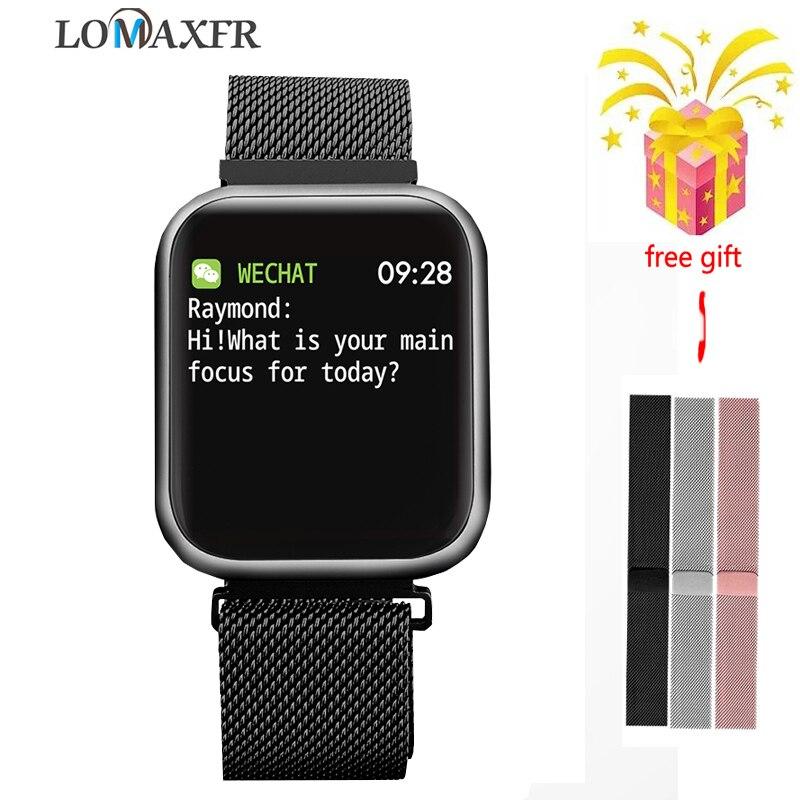 P80 SmartWatch Sport montre intelligente android 4g étanche IP68 traqueur de fréquence cardiaque bracelet de Fitness hommes femmes montre-bracelet pk q9 P70