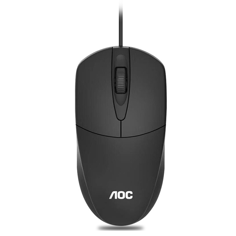 Wholesale USB Wired Mouse Business Office Mice Computer USB Accessories Gaming Optical Mouse for Dell/Lenovo/ASUS/Mac Mause