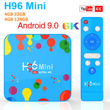 H96 Mini 4GB RAM 32GB 128GB ROM TV Box Android 9.0 Allwinner