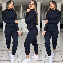 pockets tracksuit girls matching sets sexy two piece 2 piece outfits for women outfits 2019 festival clothing casual