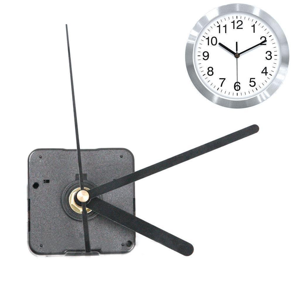 DIY Clock Mechanism Classic Hanging Black Quartz Watch Wall Clock Movement Mechanism Parts Repair Replacement Essential Tools