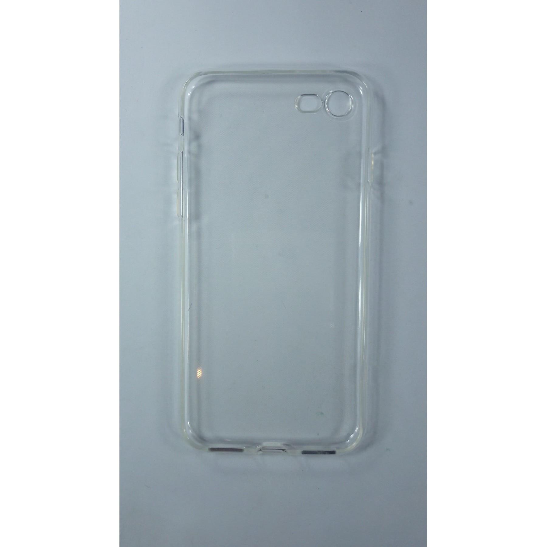 Funda de gel TPU carcasa protectora silicona para Apple Iphone 7 Transparente